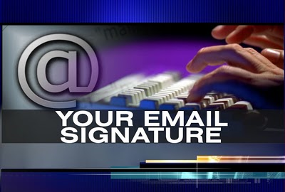 business email signature