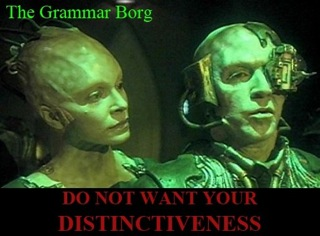 grammar or content in business writing