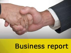 how do you write a business report