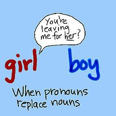 pronoun business grammar