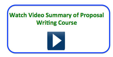 proposal writing course demo