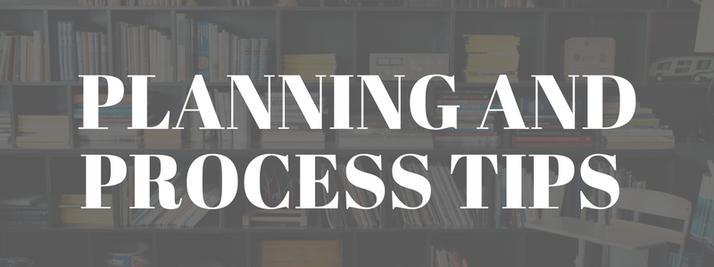 biz writing planning and process