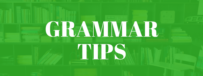 grammar tips for businesss writing