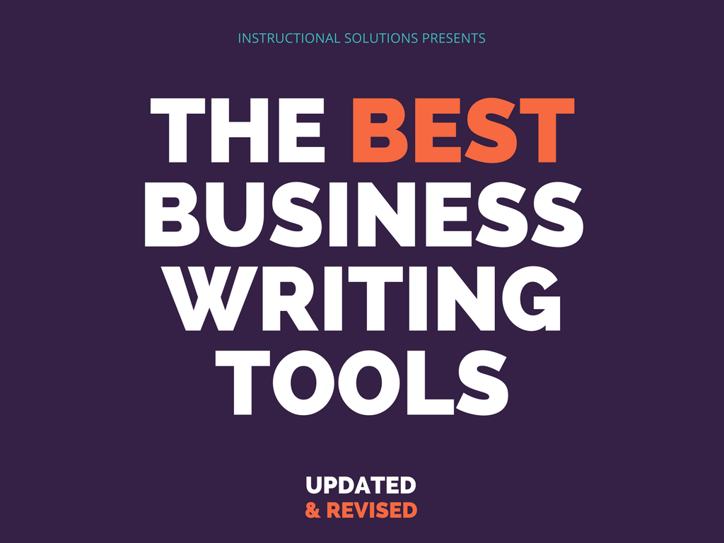 THE BEST BUSINESS WRITING TOOLS