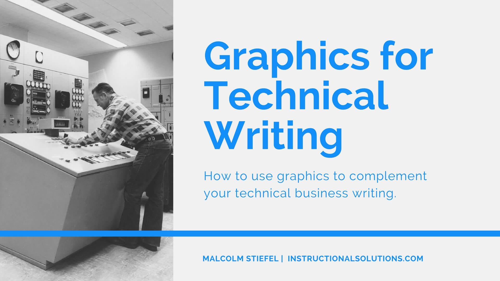 technical graphics writing