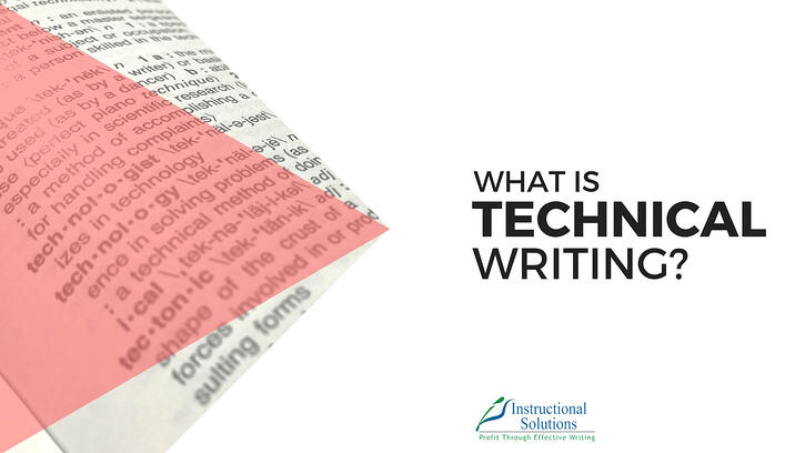 What Is Technical Writing New Definition For 2018