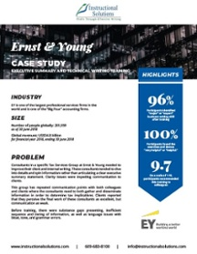 Ernst & Young - Customized Onsite Group Training