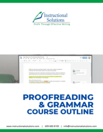 Proofreading & Grammar Outline Image