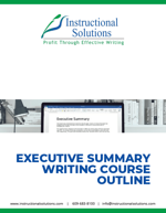 Executive Summary Course outline thumbnail