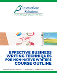 business writing non native writers outline image