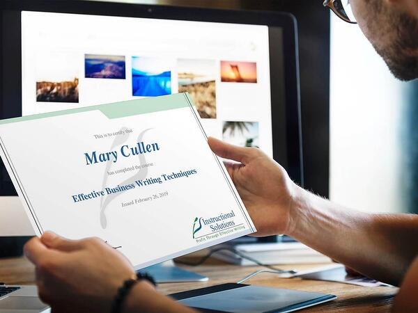 business-writing-course-certificate