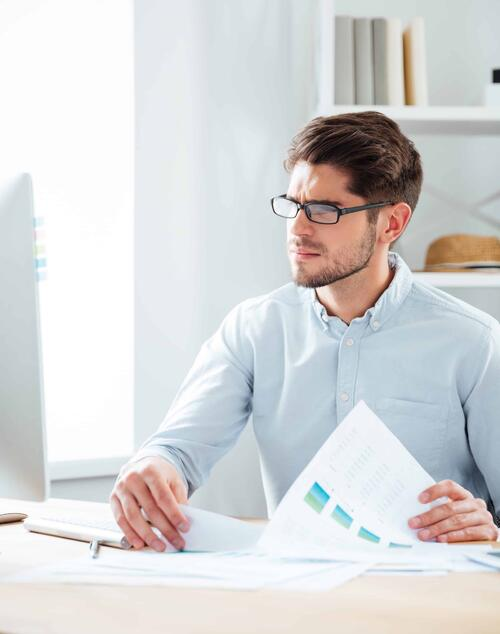 businessman-writing-document-course-papers
