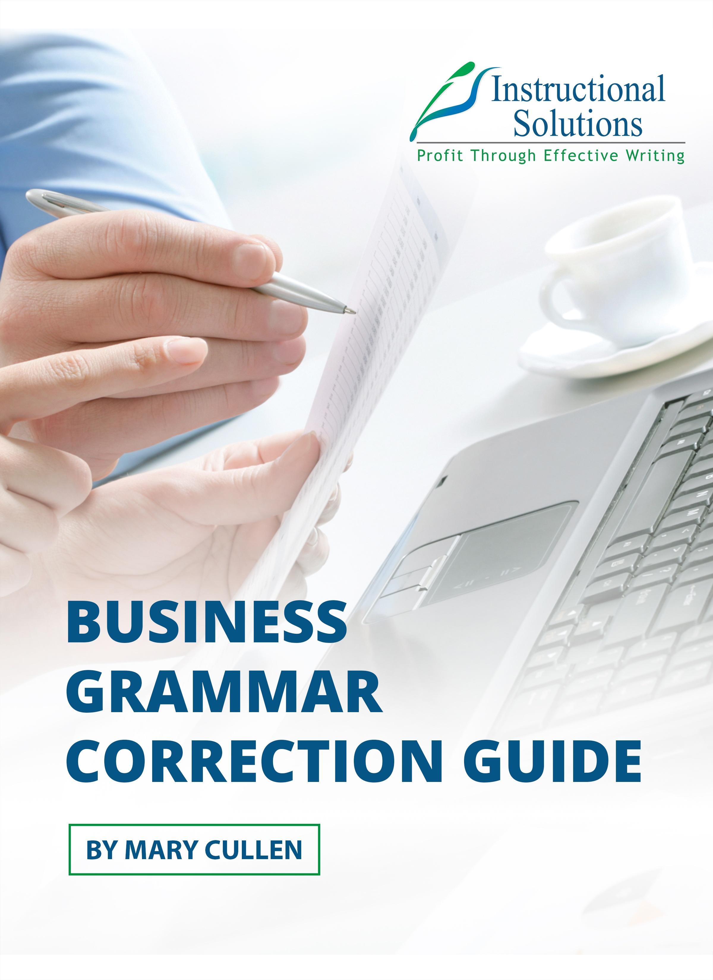 business-grammar-correction-guide