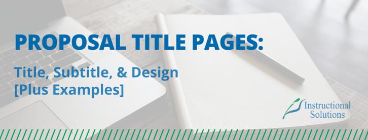 proposal-writing-title-subtitle-design