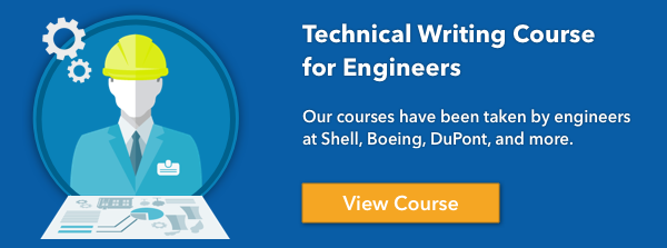 Technical Writing Course for Engineers