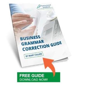 Business Grammar Correction Guide