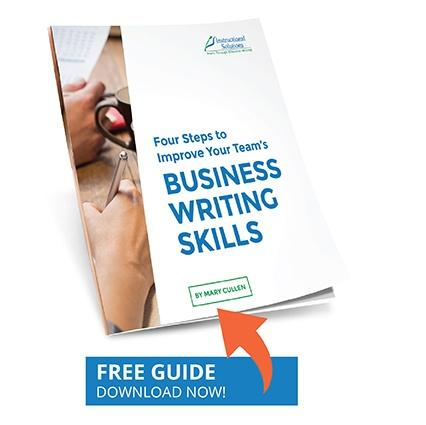 4 Steps to Improve Business Writing Skills
