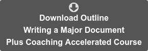 Download Outline Writing a Major Document   Plus Coaching Accelerated Course