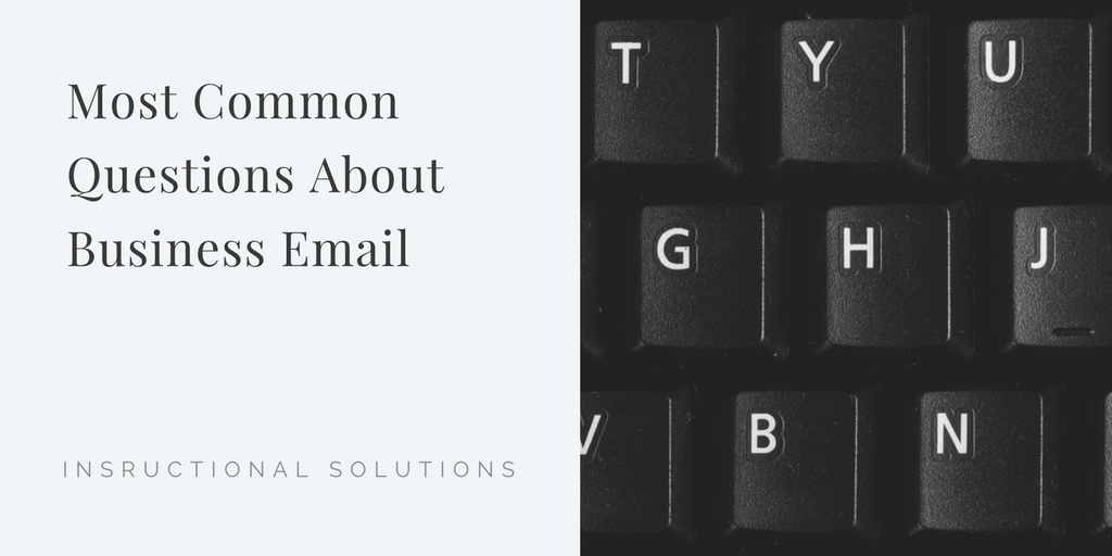 14 Common Business English Email Questions Answered