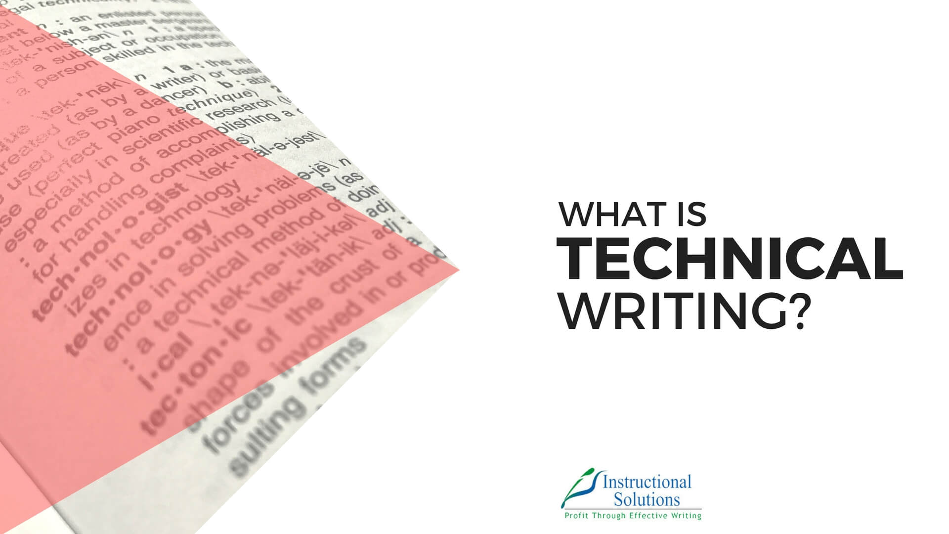 What is Technical Writing? [New Definition for 2017]