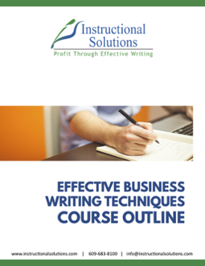 course outline business writing thumbnail