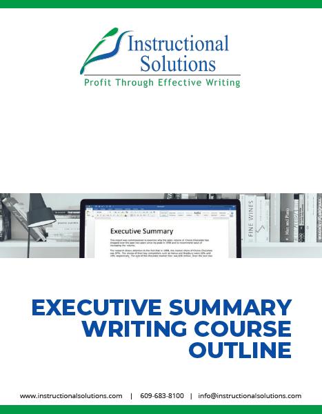 Exec Summary Outline Thumbnail
