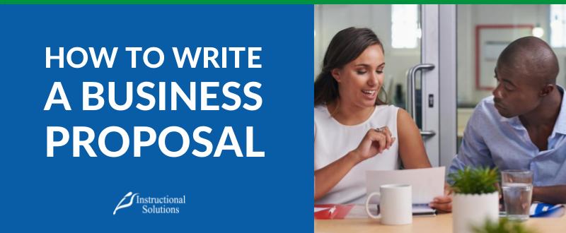 HOW TO WRITE brA WINNING BUSINESS PROPOSAL